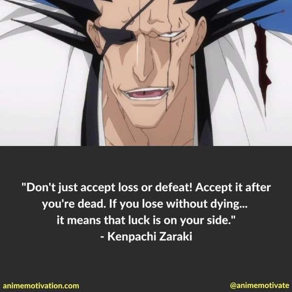 Kenpachi Zaraki Quotes 5
