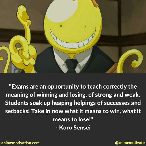 Koro Sensei Quotes 1