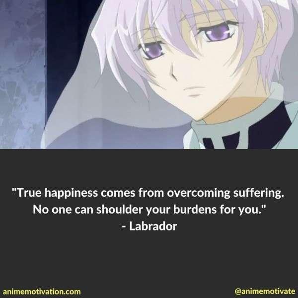 Labrador Quotes Anime
