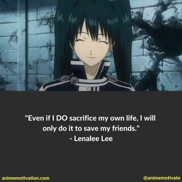 Lenalee Lee Quotes 2