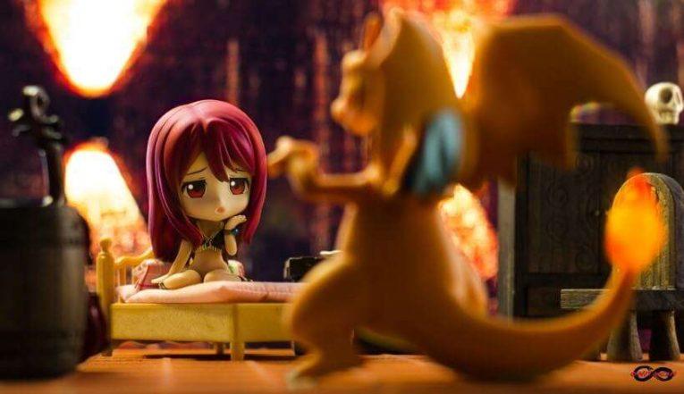 Maou Yuusha Hanging With Charizard Nendoroid