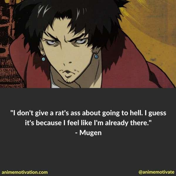 Mugen Quotes Samurai Champloo 3