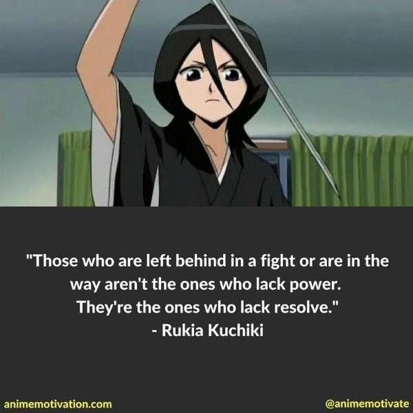 Rukia Kuchiki Quotes 3