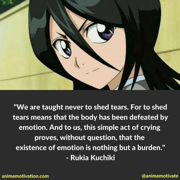 Rukia Kuchiki Quotes 6