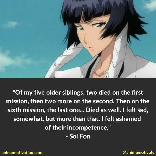 Soi Fon Quotes 3