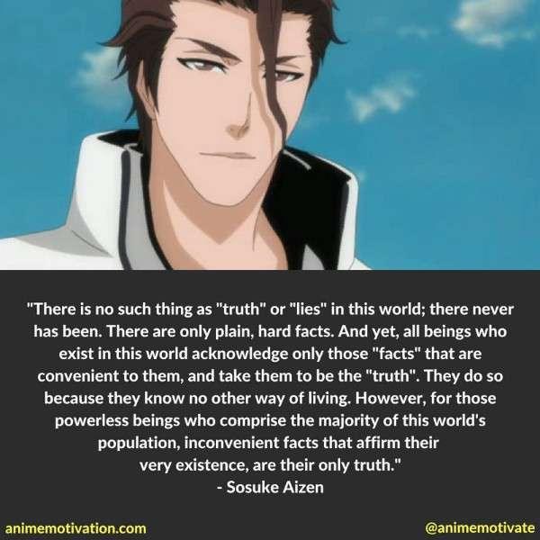 Sosuke Aizen Quotes 3