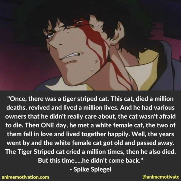 Spike Spiegel Quotes 5