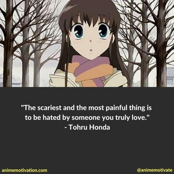 Tohru Honda Quotes