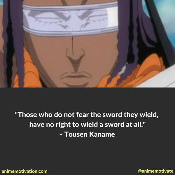 Tousen Kaname Quotes 1
