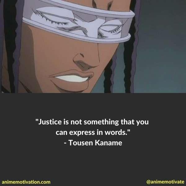 Tousen Kaname Quotes 2