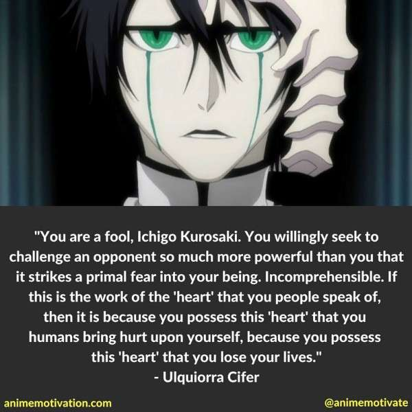 Ulquiorra Cifer Quotes 1
