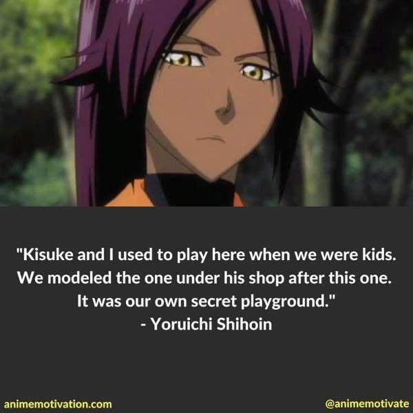 Yoruichi Shihoin Quotes 2