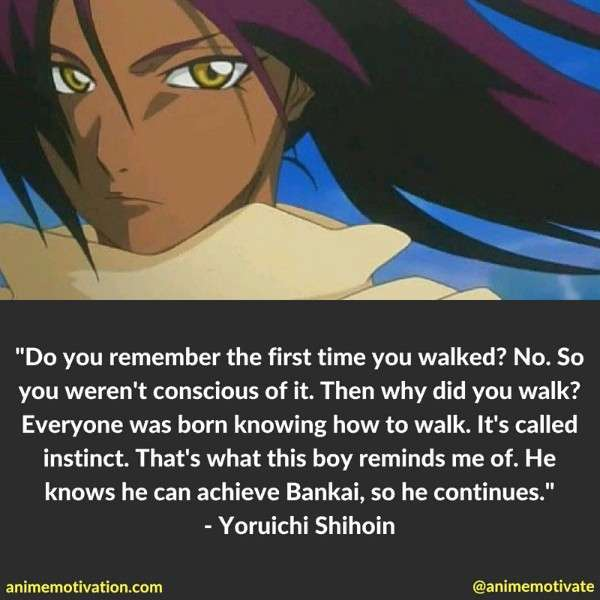 Yoruichi Shihoin Quotes 3