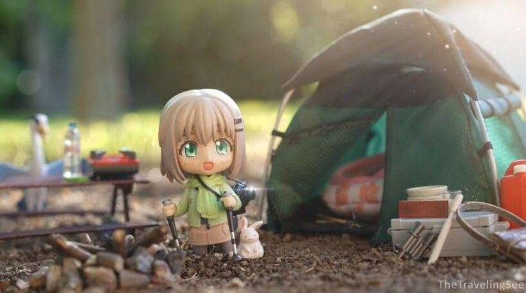 Yukimura Aoi Camping Trip Nendoroid