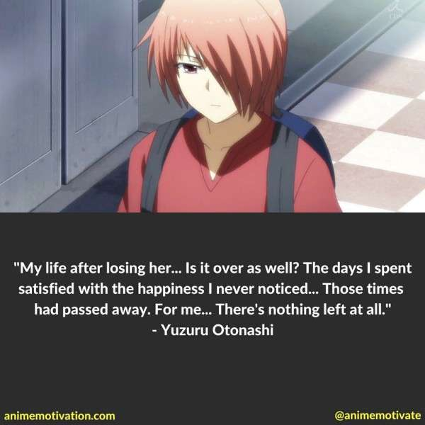 Yuzuru Otonashi Quotes
