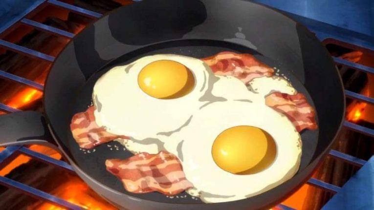 Anime Bacon And Eggs