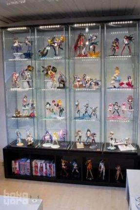 Anime Figure Cabinet Display