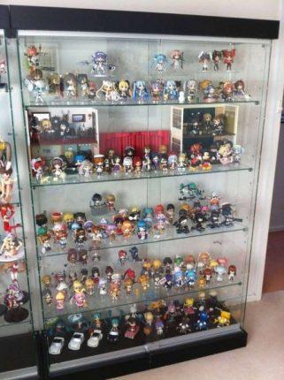Anime Nendoroids Cabinet