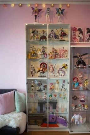 Beautiful Anime Figure Cabinet