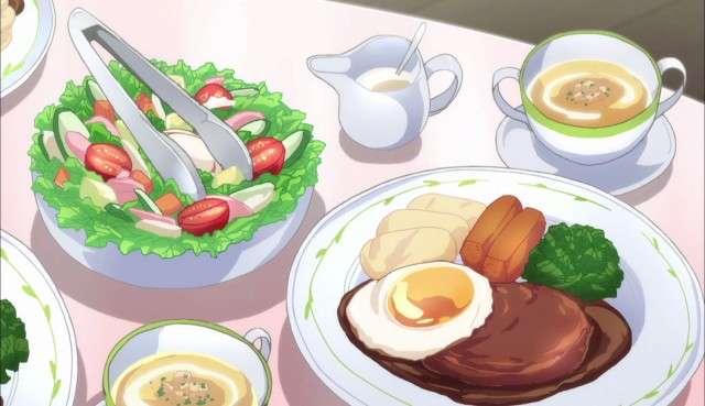 Beautiful Anime Food Photo