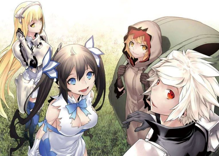 Is It Wrong To Pick Up Girls In A Dungeon Wallpaper