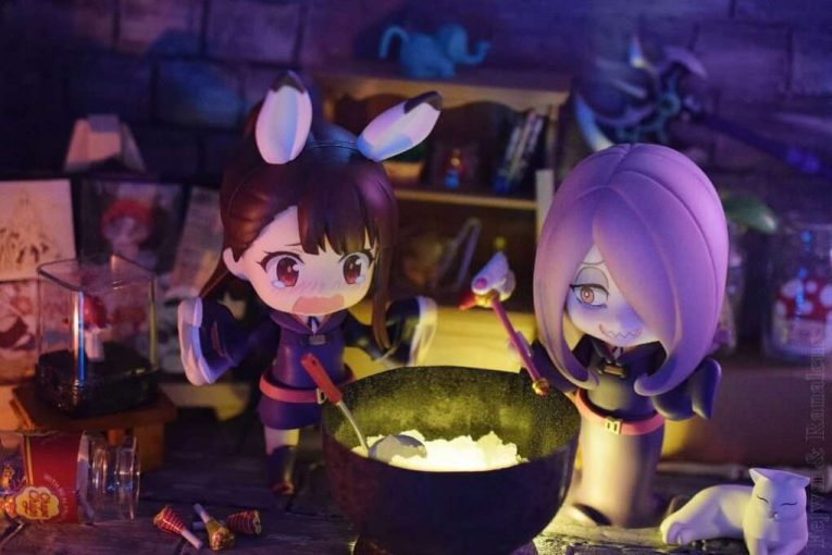 Little Witch Academia Figure Photos