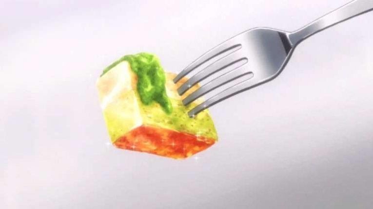 Megumi Food From Food Wars Anime