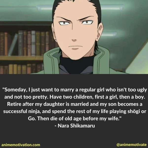 Nara Shikamaru Quotes