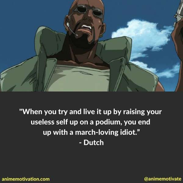 The Most Powerful Anime Quotes From Black Lagoon You Need To See