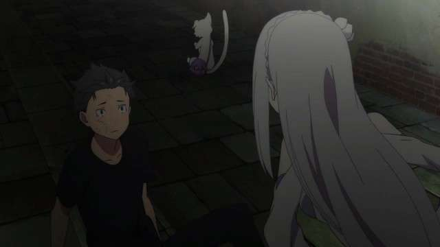 Emilia and Subaru episode 1