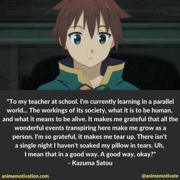 Kazuma Satou quotes