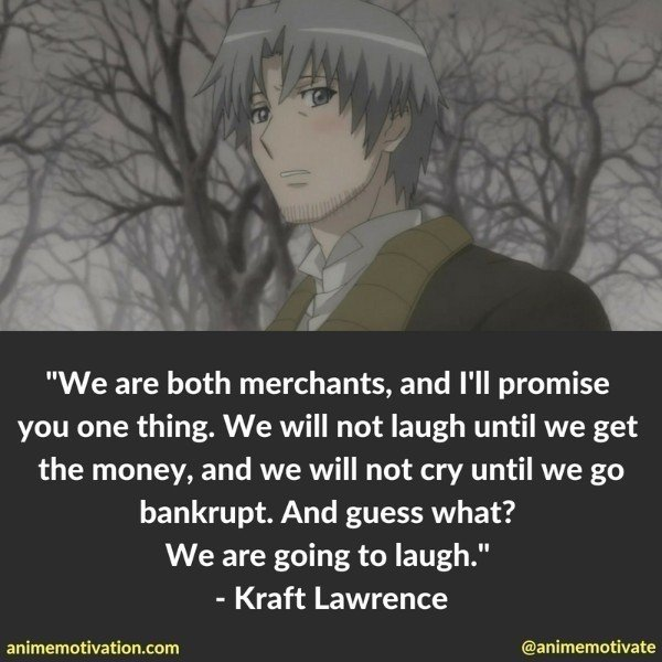 These Are The Most Meaningful Quotes From The Spice And Wolf Anime Series