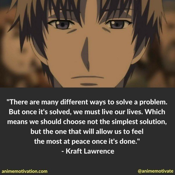 These Are The Most Meaningful Quotes From Spice And Wolf Stunning Most Meaningful Quotes