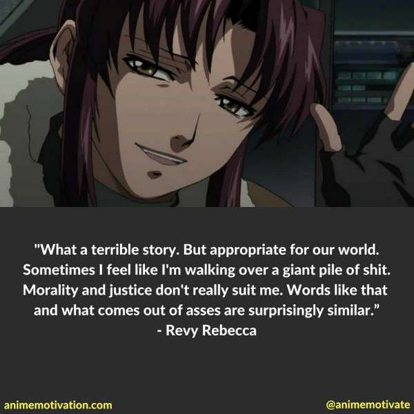 The Most Powerful Anime Quotes From Black Lagoon You Need To See 5