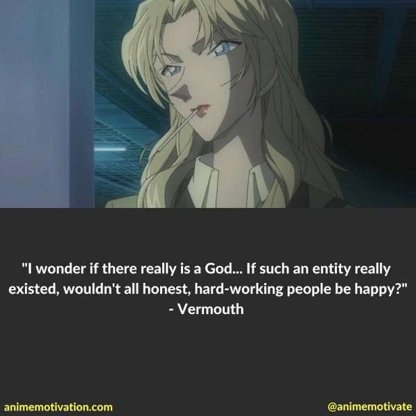 Vermouth quotes conan