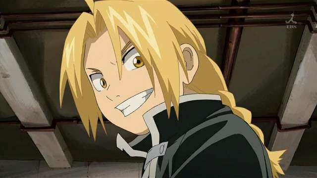 Edward Elric Smiling