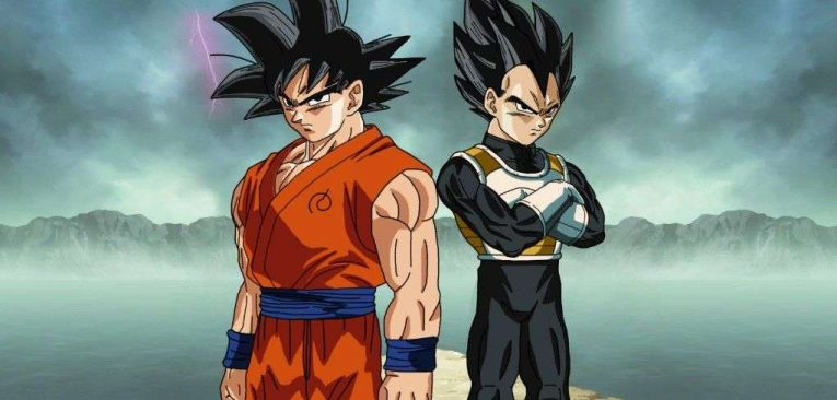 goku and vegeta dragon ball super compressor