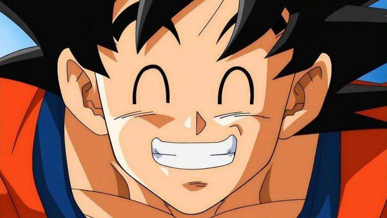 goku smiling face