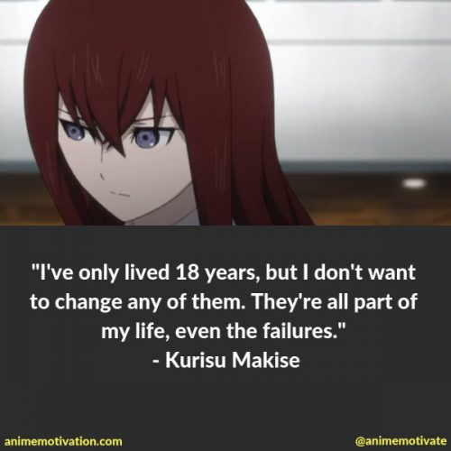 The Most Memorable Quotes From Steins Gate That Will Make You Think