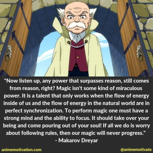 The Most Legendary Fairy Tail Quotes That Will Touch Your Heart 16