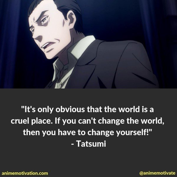 "All The Best Quotes From ""Death Parade"" That Will Speak To Your Heart"