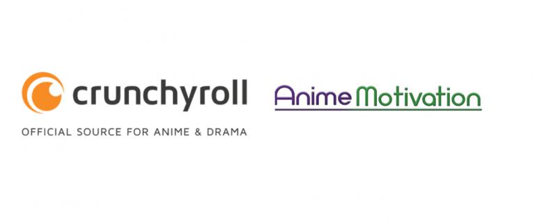 crunchyroll and anime motivation logo