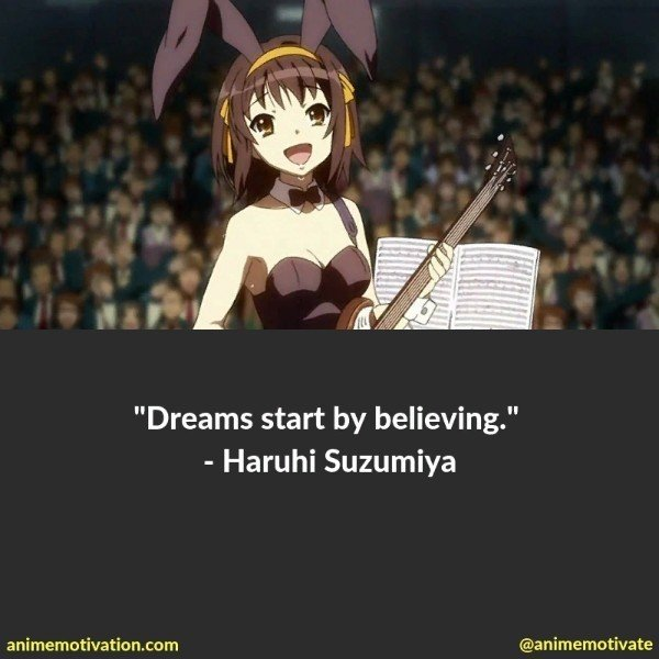 The Greatest Haruhi Suzumiya Quotes Of All Time 20