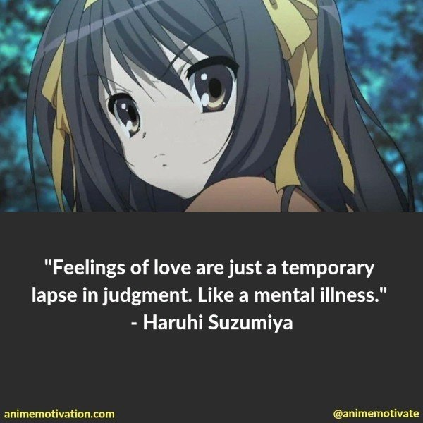 The Greatest Haruhi Suzumiya Quotes Of All Time 25