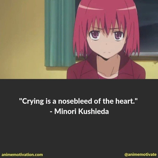26 Bittersweet Anime Quotes From Toradora 2