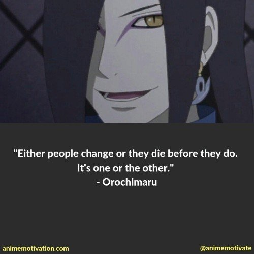 Orochimaru quotes naruto 2 | 100+ Of The Greatest Naruto Quotes For Shounen Anime Fans