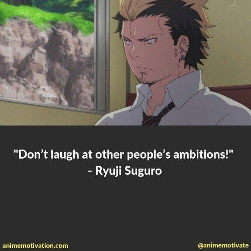 Ryuji Suguro quotes 1