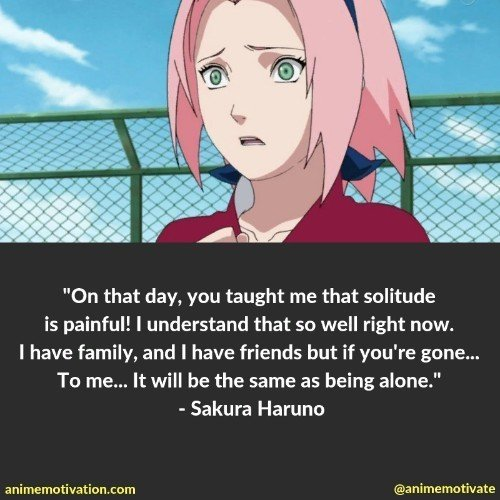 Sakura Haruno quotes 4 | 100+ Of The Greatest Naruto Quotes For Shounen Anime Fans