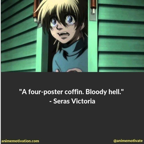 The Darkest Anime Quotes From Hellsing About Life And Despair
