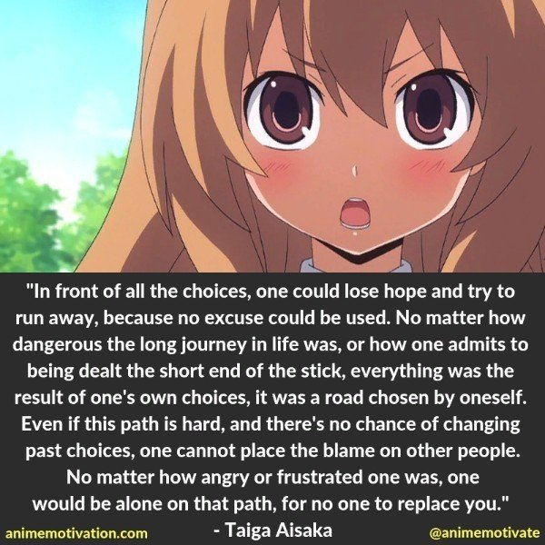 26 Bittersweet Anime Quotes From Toradora 18